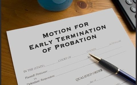 early termination probation